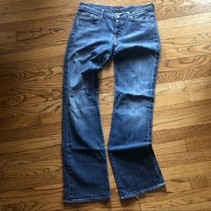7 For All Mankind Boycut Bootleg Jeans